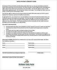 dental consent form dental informed consent form sample informed