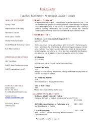 yoga instructor resume dance teacher cover letter sample resume dance teacher resume