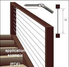 Interior Cable Railing Kit Complete Cable Railing Assemblies