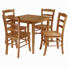 8 chair square dining table amazon com winsome groveland 5 piece wood dining set light oak