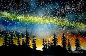 stars painting starry starry night by ed moore