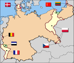 post ww1 map territorial evolution of germany
