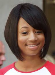 layered bob sew in hairstyles for black women for older women short layered bob hairstyle your hair club