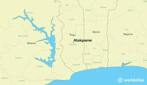 togo location on world map where is atakpame togo atakpame plateaux map worldatlas