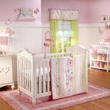 Girls Nursery Bedding Sets by Amazon Com Butterfly Love 4 Piece Baby Crib Bedding Set By Nojo