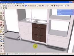 Kitchen Cabinet Components Sketchup Kitchen Design Using Dynamic Component Cabinets Part 1
