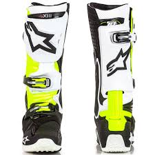 motocross boots alpinestars d71 special edition tech 10 mens motocross boots
