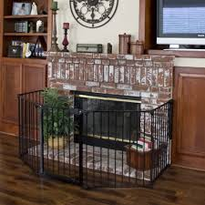 fireplace metal safety fence u2013 best choice products