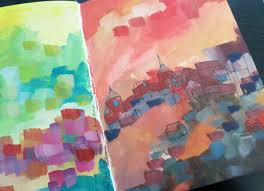 acrylic painting ideas for beginners who want to make art this summer