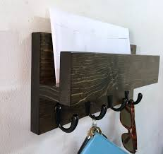 Mail And Key Holder Mail Holder Key Rack Treetop Woodworks