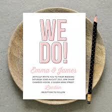 Fun Wedding Invitations Printable Wedding Invitation Pdf U0027we Do U0027 Fun Wedding Invite
