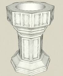 baptismal fonts custom baptismal fonts in wood and marble from henninger s church