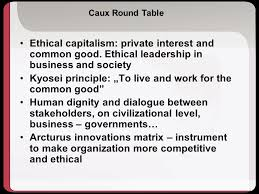 Caux Round Table International Competitiveness In The Global Economy Ppt Pobierz
