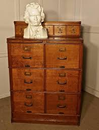 2 Drawer Wooden Filing Cabinet Large Edwardian 11 Drawer Oak Filing Cabinet By Shannon At 1stdibs