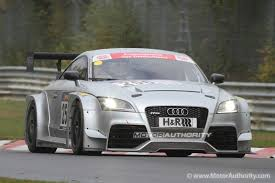 audi race car audi tt rs race car debuts hits the track