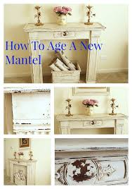 Shabby Chic Fireplace Mantels by 25 Best Vintage Mantle Ideas On Pinterest Vintage Fireplace
