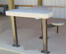 Portable Shooting Bench Building Plans Portable Shooting Bench Guns Pinterest Portable Shooting