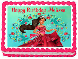 edible cake topper of avalor image edible cake topper party decoration ebay