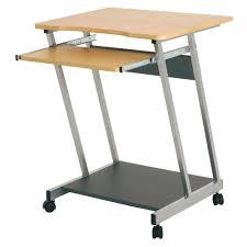 Pc Tisch Fahrbarer Pc Tisch Lopez In Buche Kaufen Bei Wohnen De