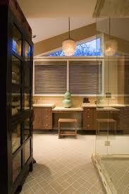 Free Standing Bathroom Vanities by Trapezoid Windows Bathroom Contemporary With Linen Closet Rustic