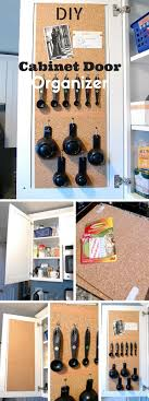 Do It Yourself Cabinet Doors Check Out The Tutorial Diy Cabinet Door Organizer Crafts Do