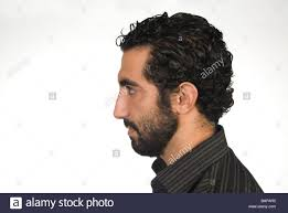 middle eastern hair cuts for men profile portrait of a 25 years old middle eastern man stock photo
