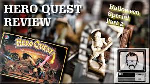 hero quest board game review halloween special part 2 nostalgia