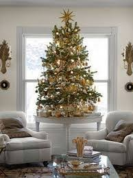the tree savvy southern style burlap and plaid