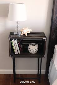 dog crate nightstand diy do it your self