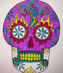 dia de los muertos sugar skulls or dia de los muertos sugar skull mask craft