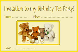 teddy bear tea party invitations phlebotomist resume samples