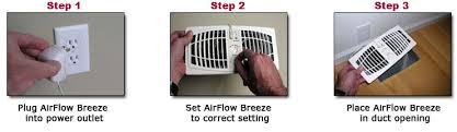 air duct assist fan register vent booster fan 6 x 10 or 12 almond