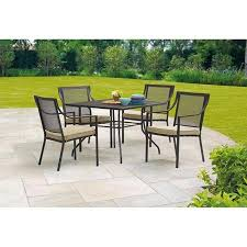 amazon com mainstays bellingham outdoor 5 piece patio furniture