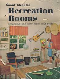 sunset ideas for recreation rooms lane 1968 vintage sunset