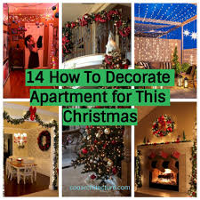 14 how to decorate apartment for this christmas coo architecture