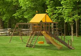211 wooden scenic pointe swing set play mor swing sets of amish