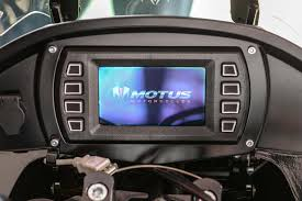 a motorcycle service manual in your dash a look at the motus