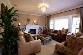 Living Room Decor With Brown Leather Sofa 17 Zebra Living Room Decor Ideas Pictures