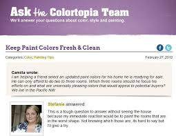 glidden paint colortopia blog can suggest colors based on your