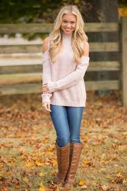 best 25 cold shoulder sweater ideas on winter fashion