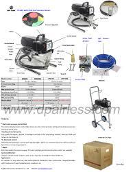 professional electric airless paint sprayer titan ix series type