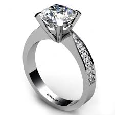 white gold diamond ring diamond engagement ring setting 0 18 carats
