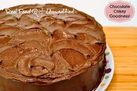 chocolate cake with chocolate buttercream frosting real food