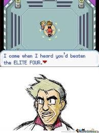 Professor Oak Meme - professor oak he came by turtleboy76 meme center