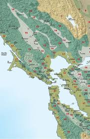 Garden Growing Zones - sunset climate zones san francisco bay area and inland sunset