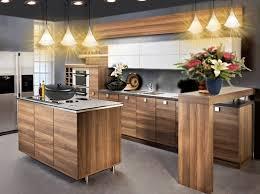 cuisine en bois moderne cuisine bois moderne luxe cuisine anthracite et bois pas cher sur