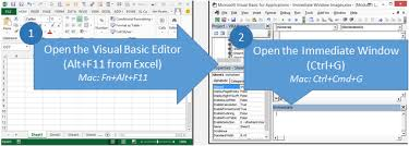 5 ways to use the vba immediate window excel campus