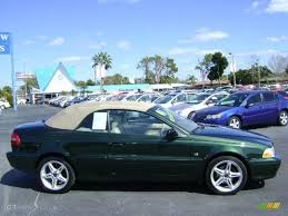 volvo convertible 2001 emerald green metallic volvo c70 lt convertible 2647611