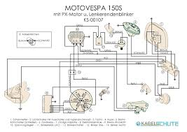 wiring harness for motovespa 150 s conversion