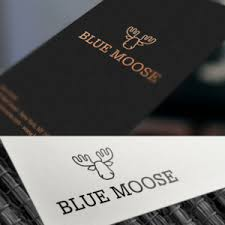 blue moose wedding band 86 serious masculine logo designs for blue moose a business in